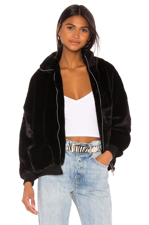 superdown x Draya Michele Camilla Oversized Jacket in Black