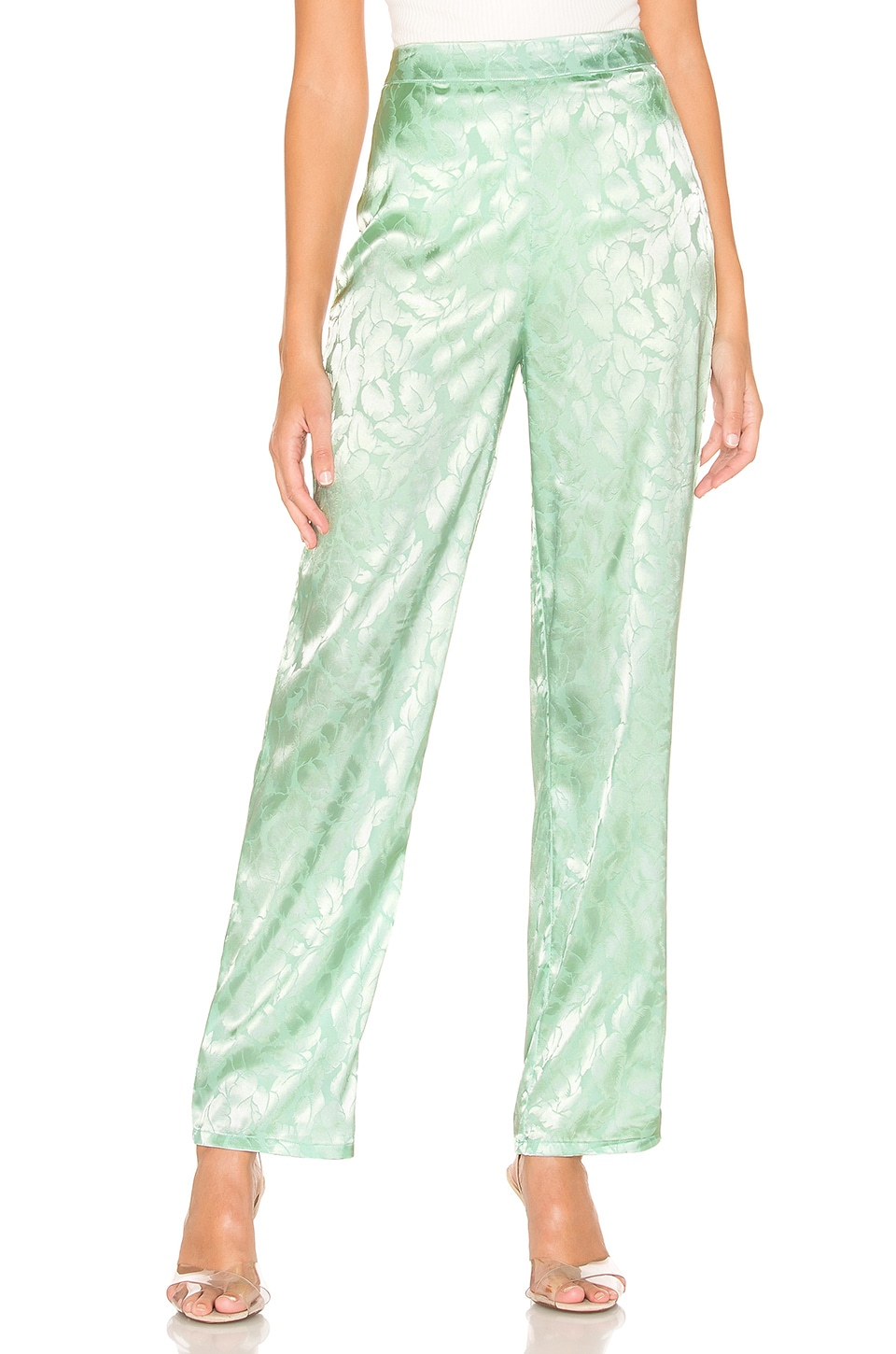 superdown Dita High Waisted Pant in Mint