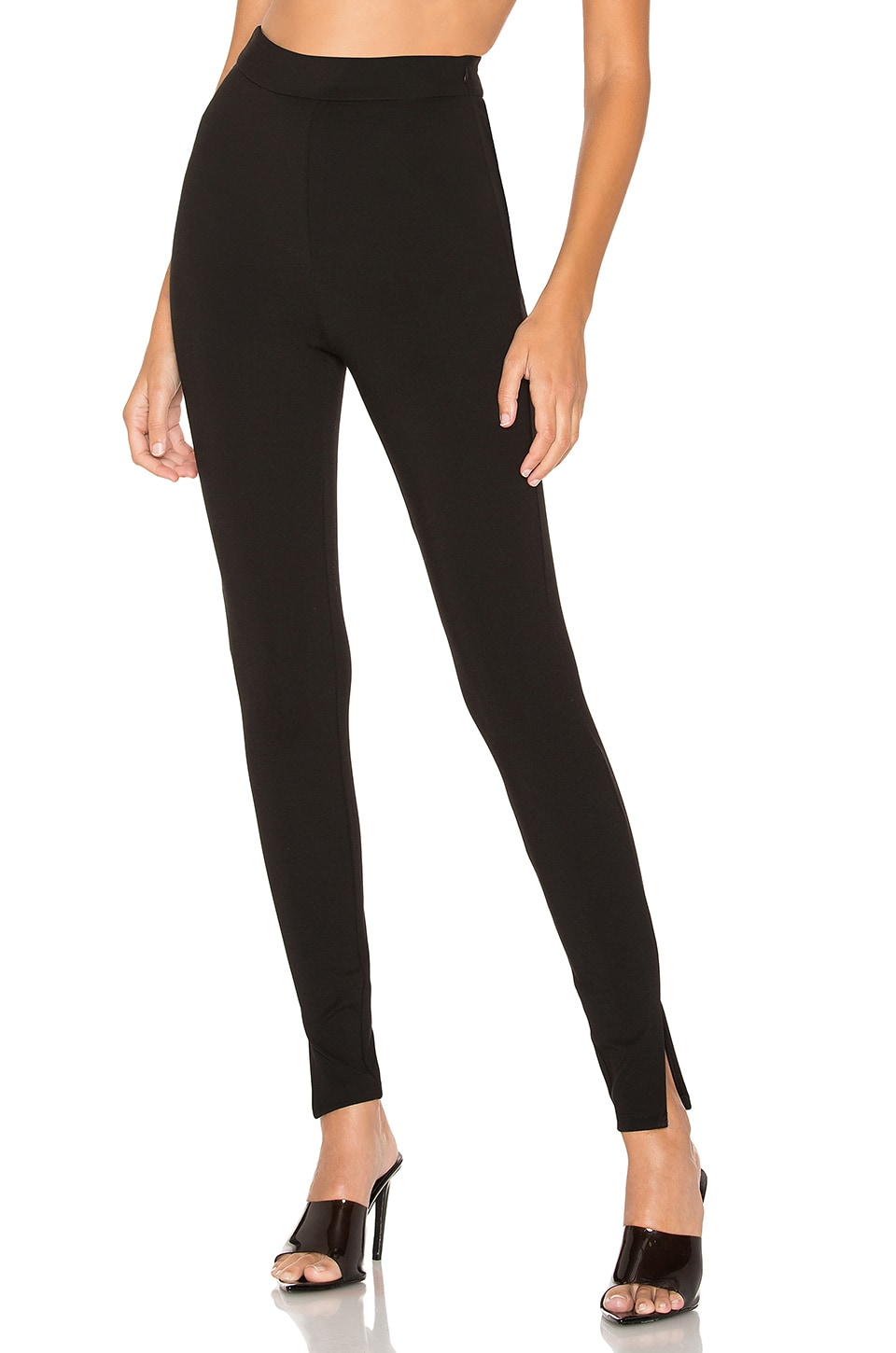 superdown Shelly High Waisted Leggings in Black