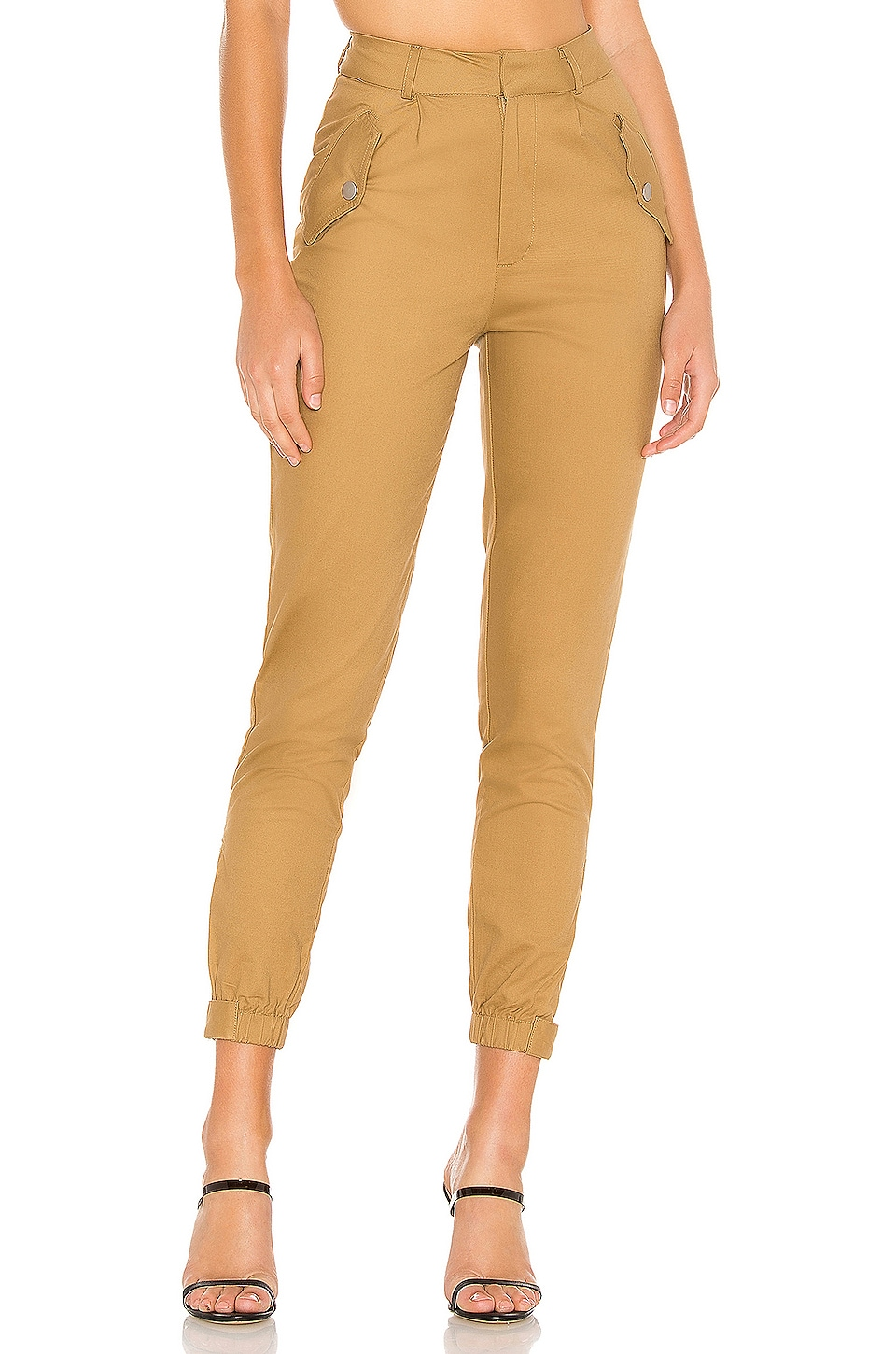 superdown Imogen Pant in Tan
