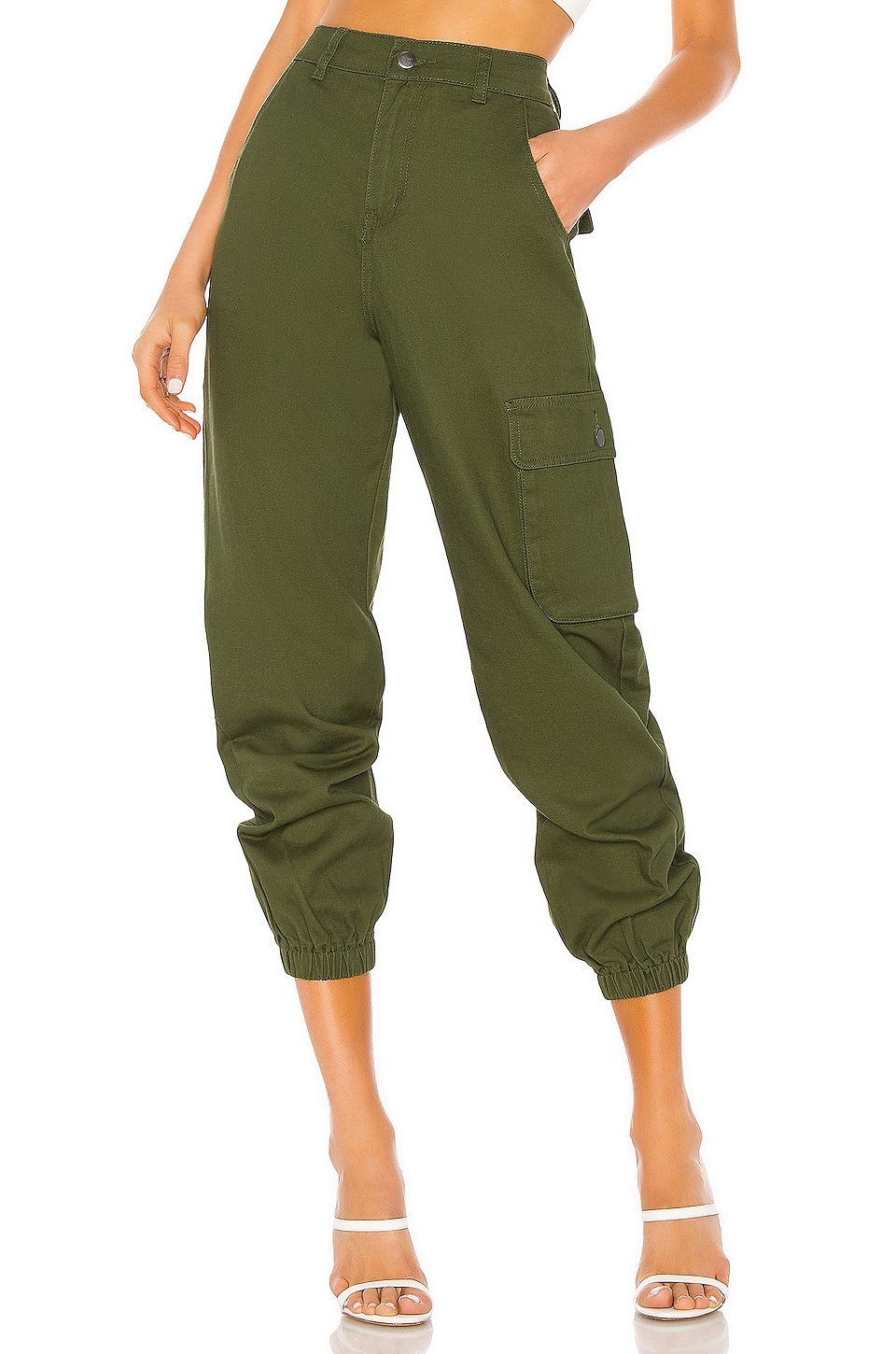 superdown Casey Cargo Pant in Green
