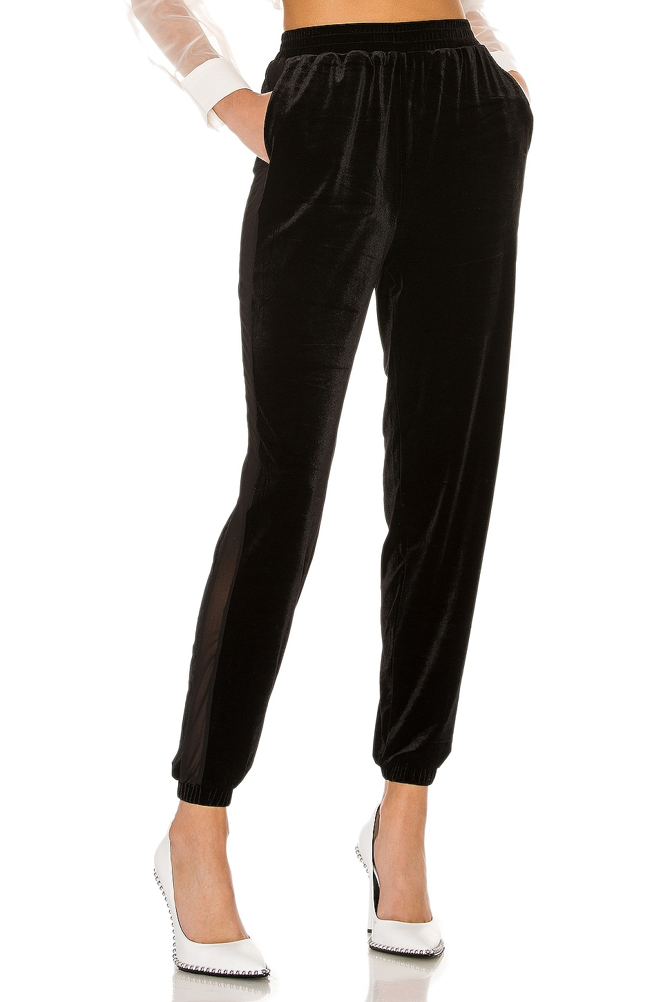 superdown Candace Track Pant in Black