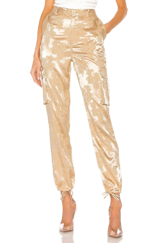 superdown x Draya Michele Carmen Cargo Pants in Tan