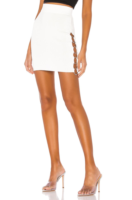 superdown Miliana O Ring Skirt in White