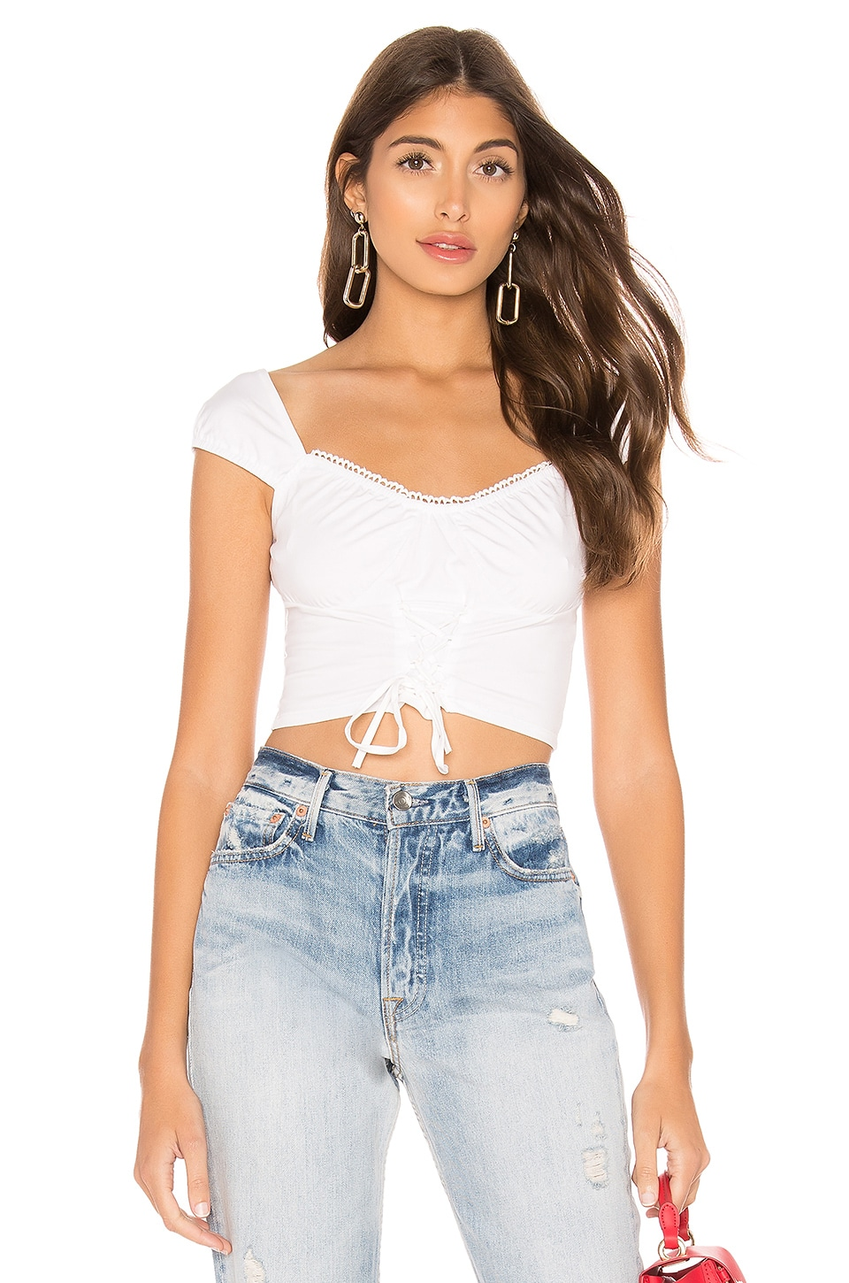 superdown TOP CROPPED ALONA