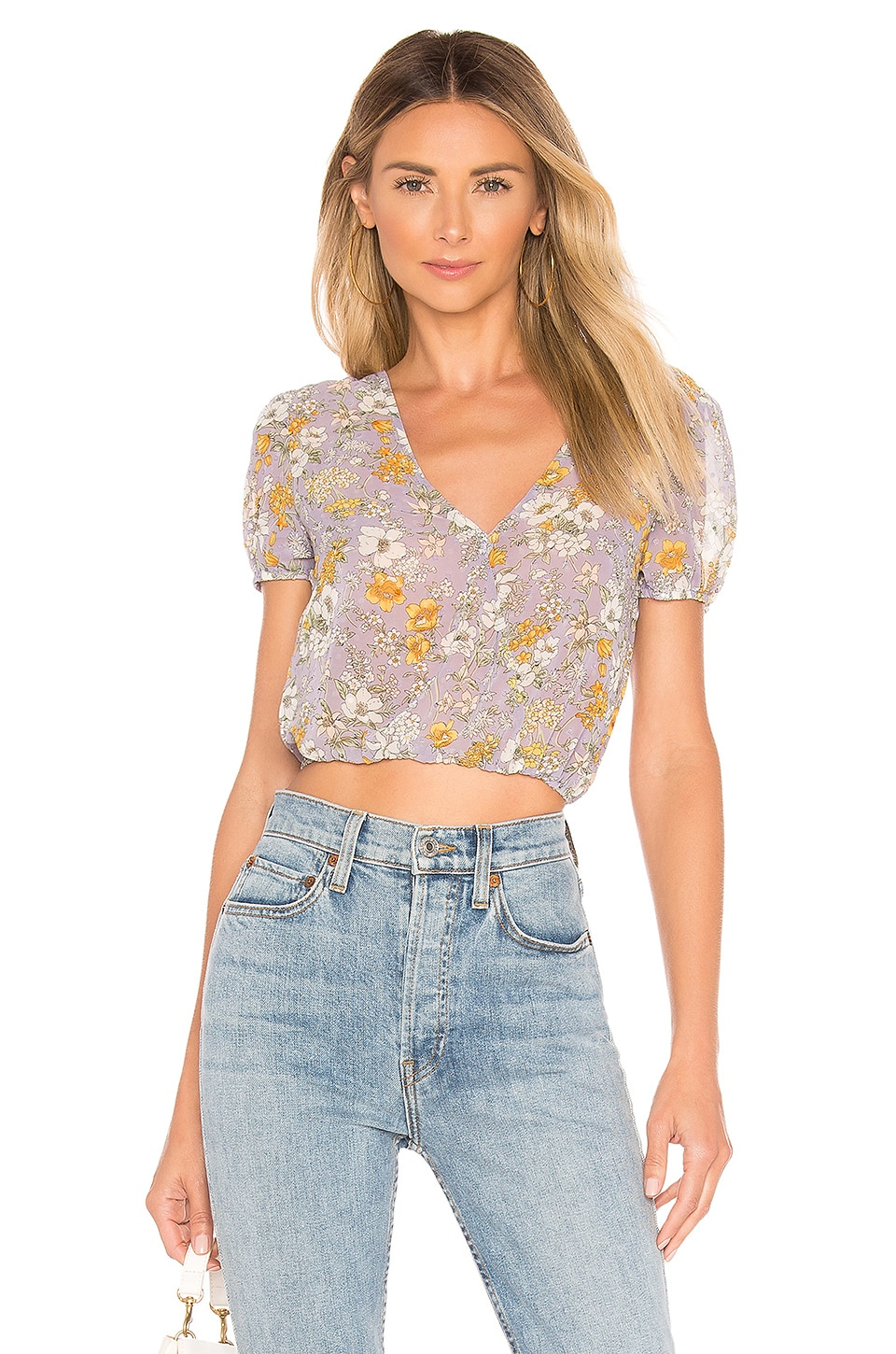 superdown TOP CROPPED SIRENA