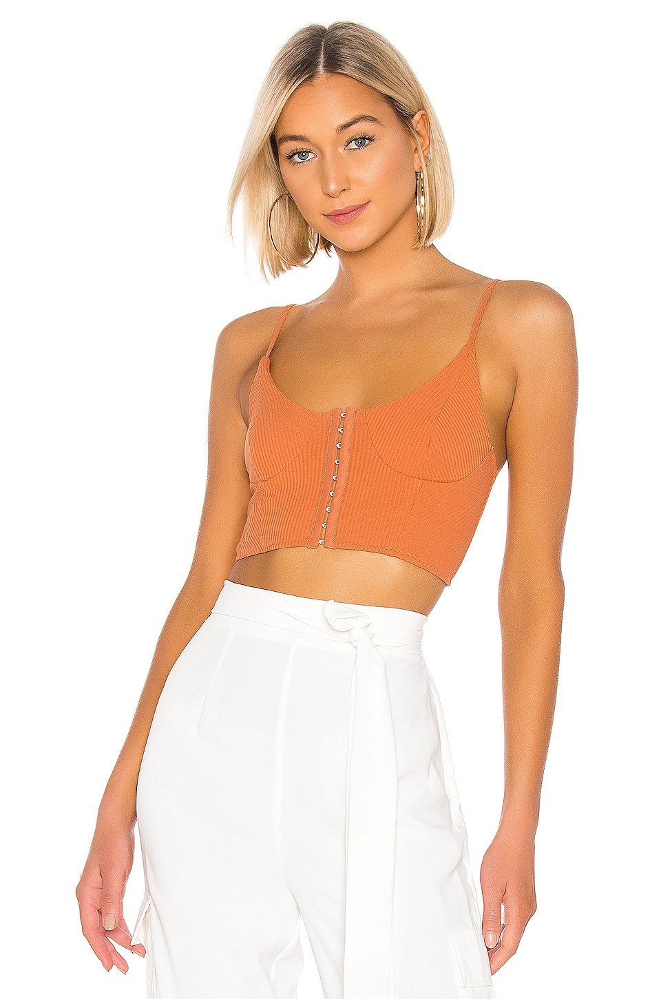 superdown Dax Cami Top in Rust