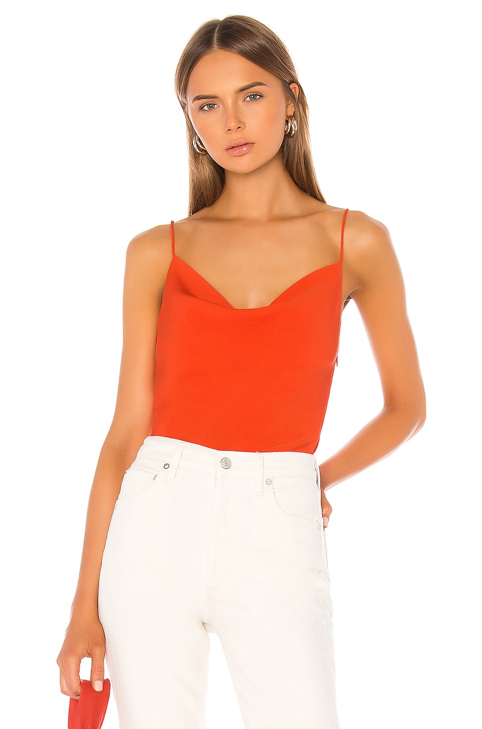superdown Angelina Cami Top in Poppy