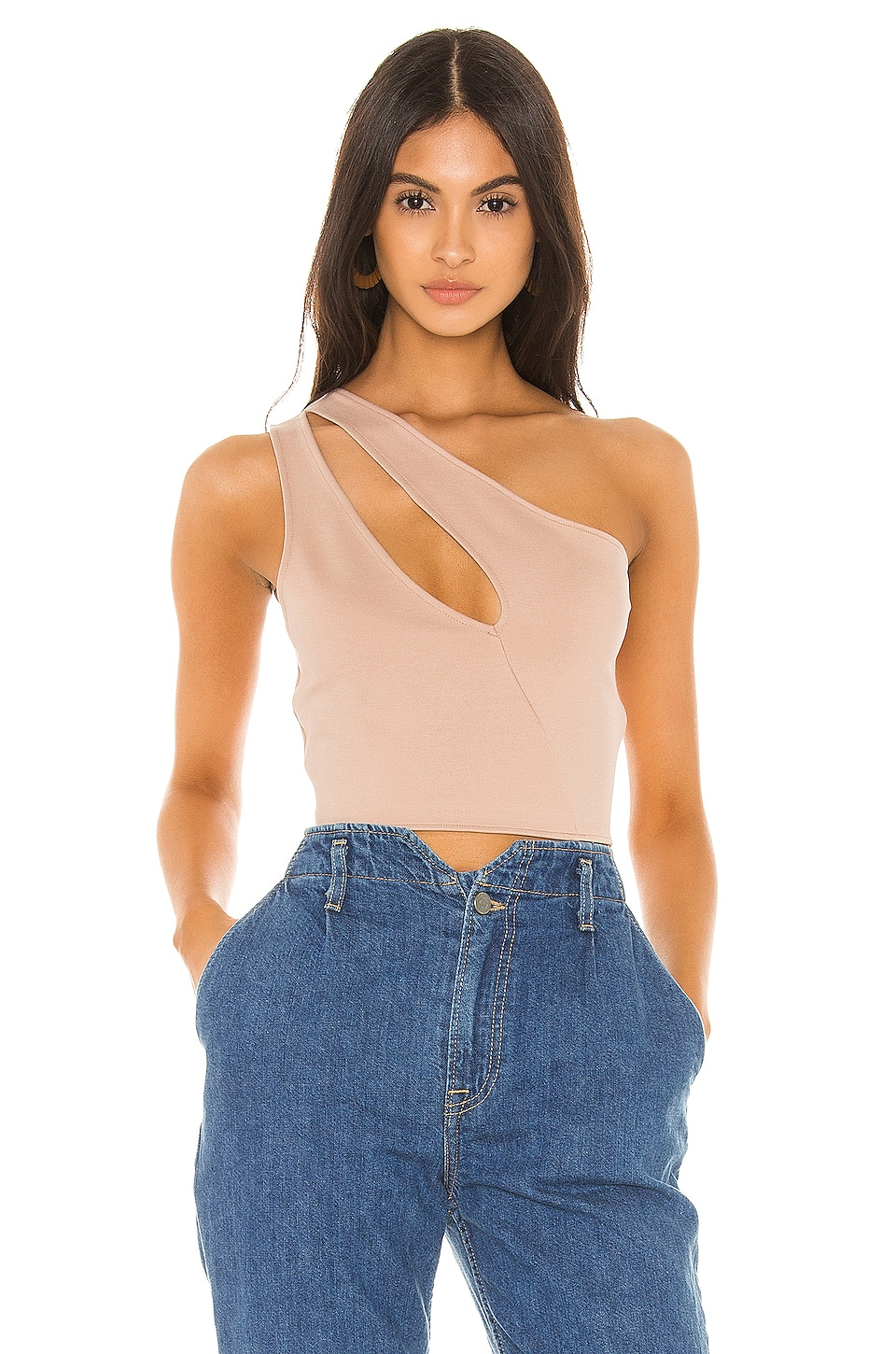 superdown TOP CROPPED ASYMÉTRIQUE NAVA