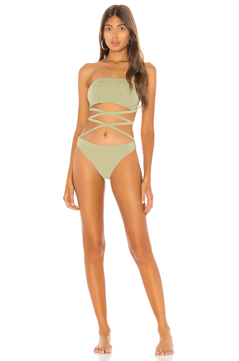 superdown Mika Strappy One Piece in Sage