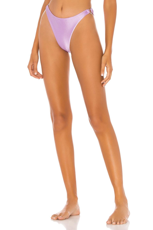 superdown Sirena Bikini Bottom in Lavender