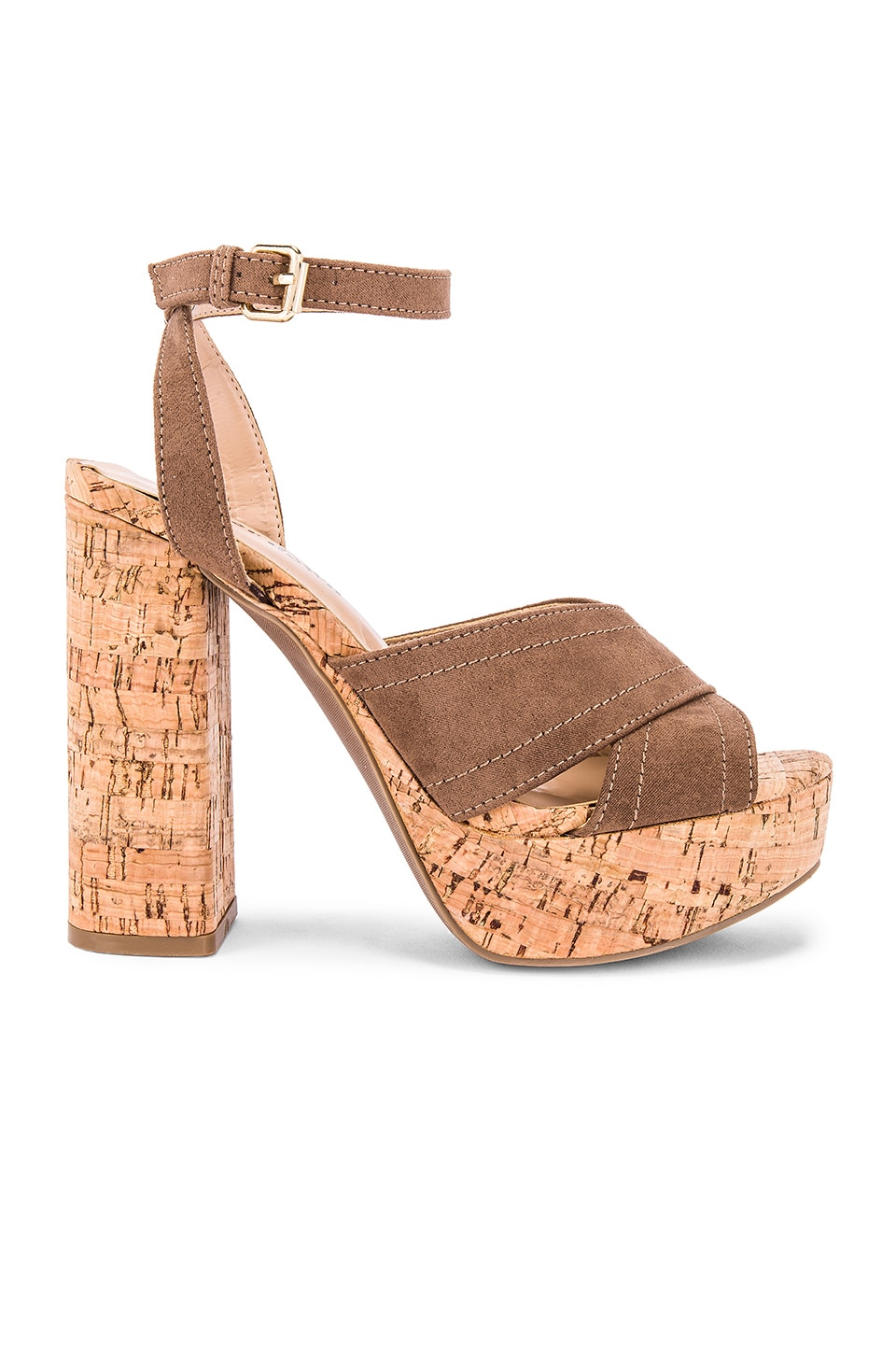 superdown Sarah Heel in Tan
