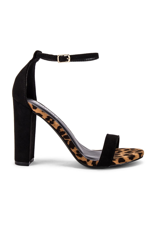 superdown Sicily Heel in Tan Leopard