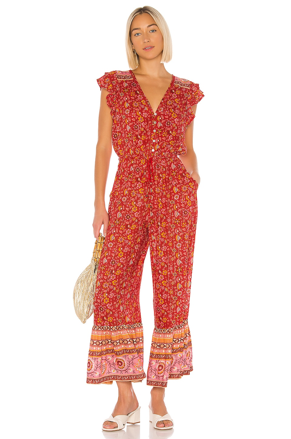 Spell & The Gypsy Collective X REVOLVE Dahlia Jumpsuit in Red