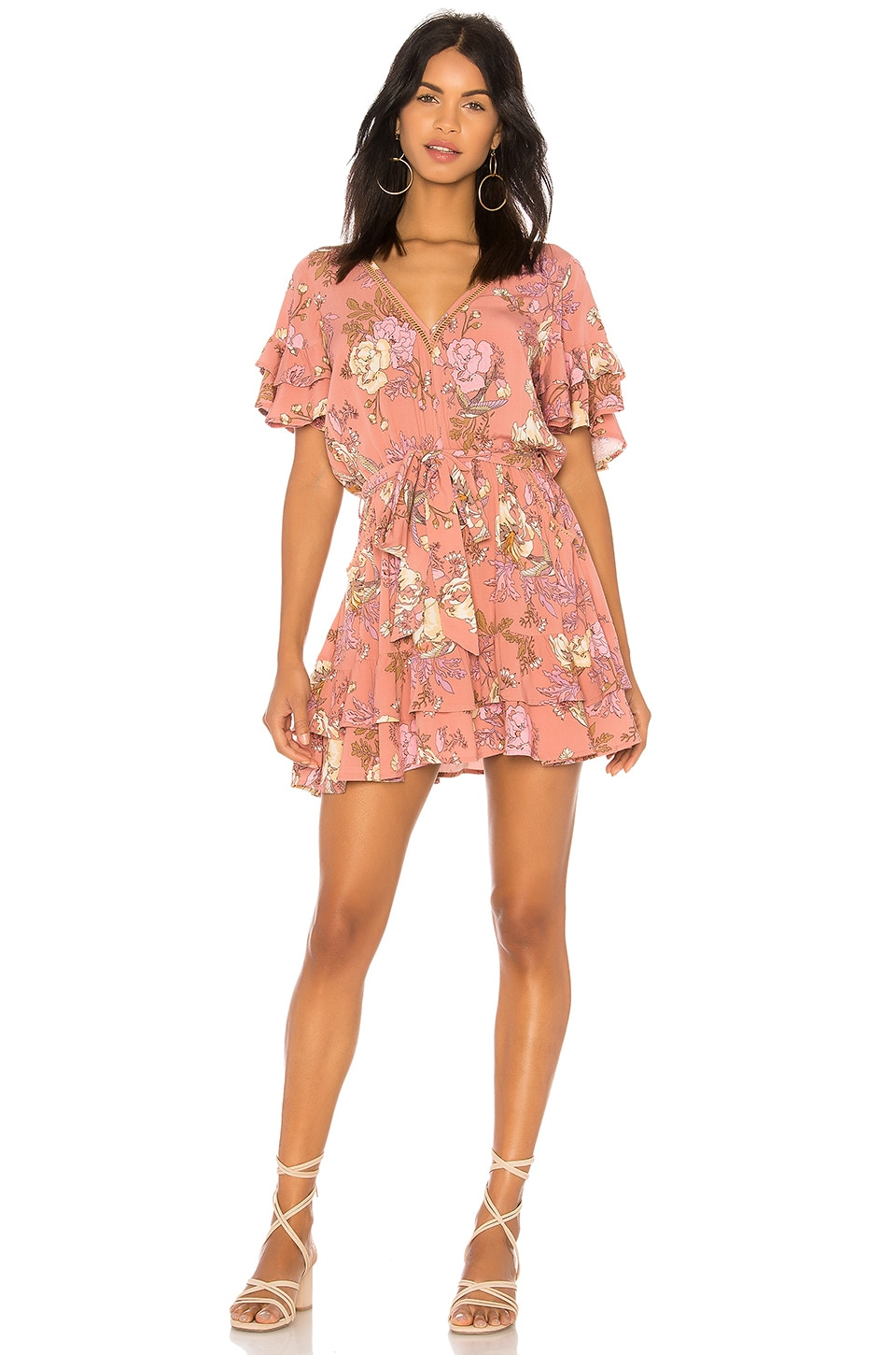 Spell & The Gypsy Collective Rosa Play Dress in Blush