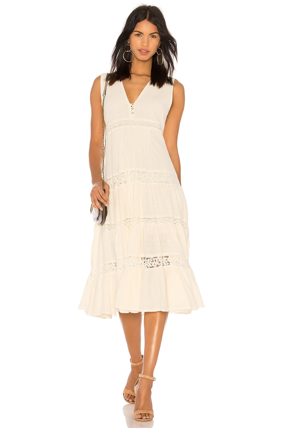 SPELL & THE GYPSY COLLECTIVE DOE EYED MIDI DRESS