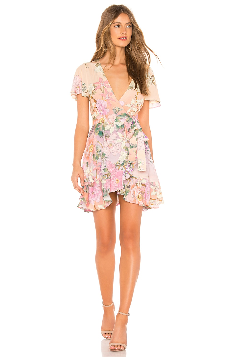 Spell & The Gypsy Collective Lily Mini Dress in Lilac