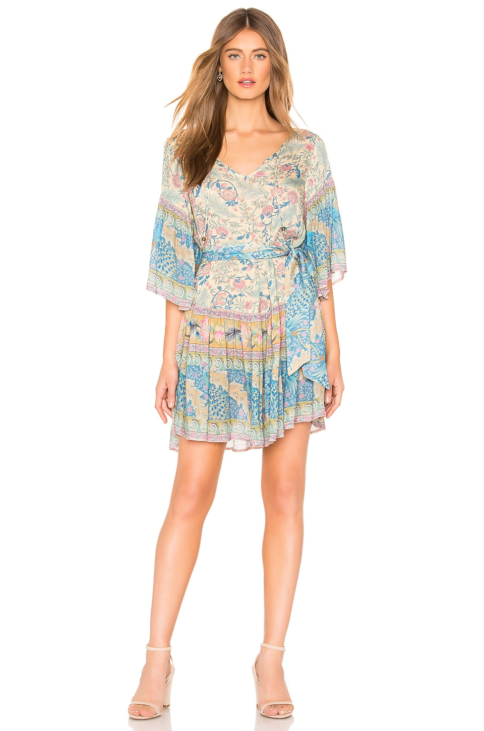 Spell & The Gypsy Collective Oasis Mini Dress in Opal