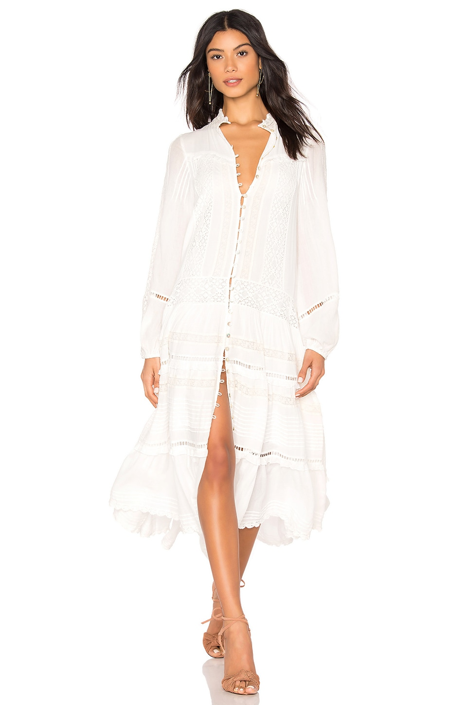 Spell & The Gypsy Collective Hanging Rock Dress in White