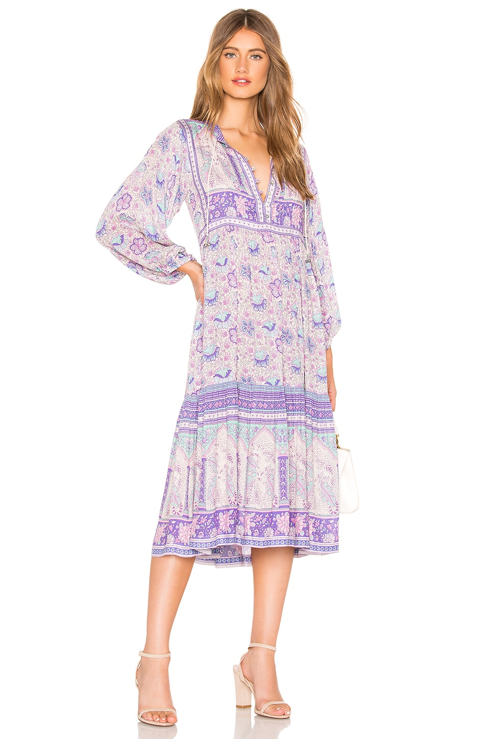 SPELL & THE GYPSY COLLECTIVE Poinciana Dress in Lavender