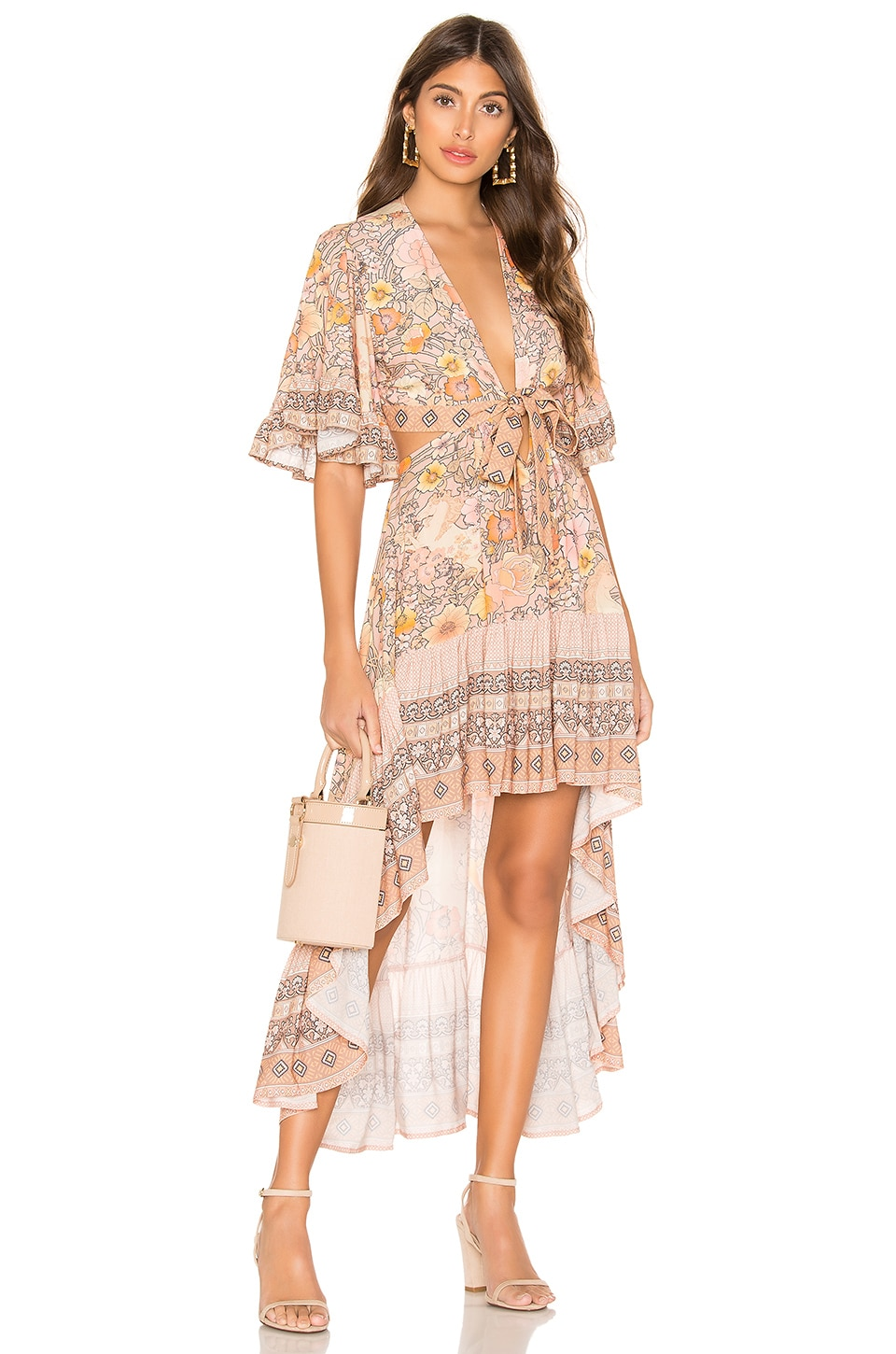 Spell & The Gypsy Collective x REVOLVE Amethyst Bambi Dress in Blush