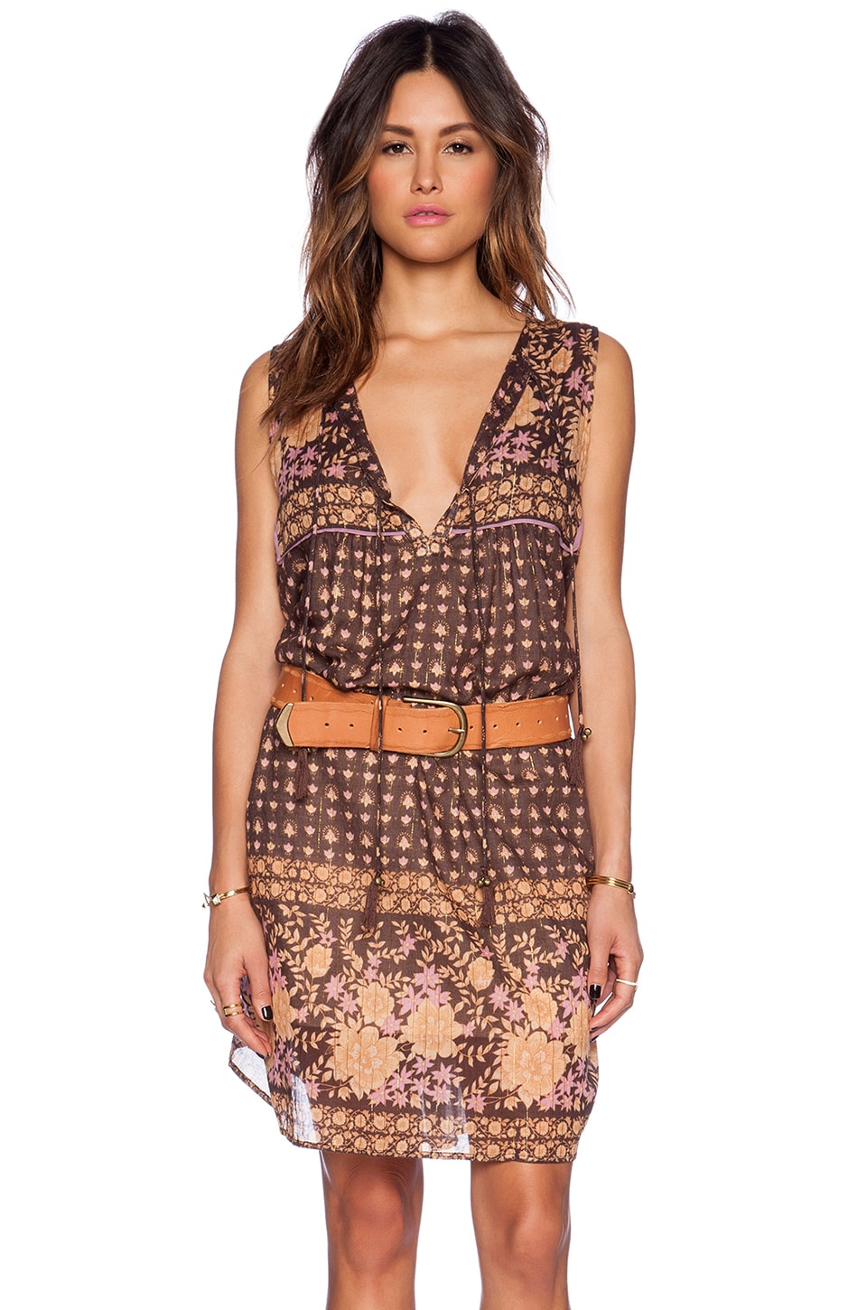Spell & The Gypsy Collective Desert Rose Dress in Raven