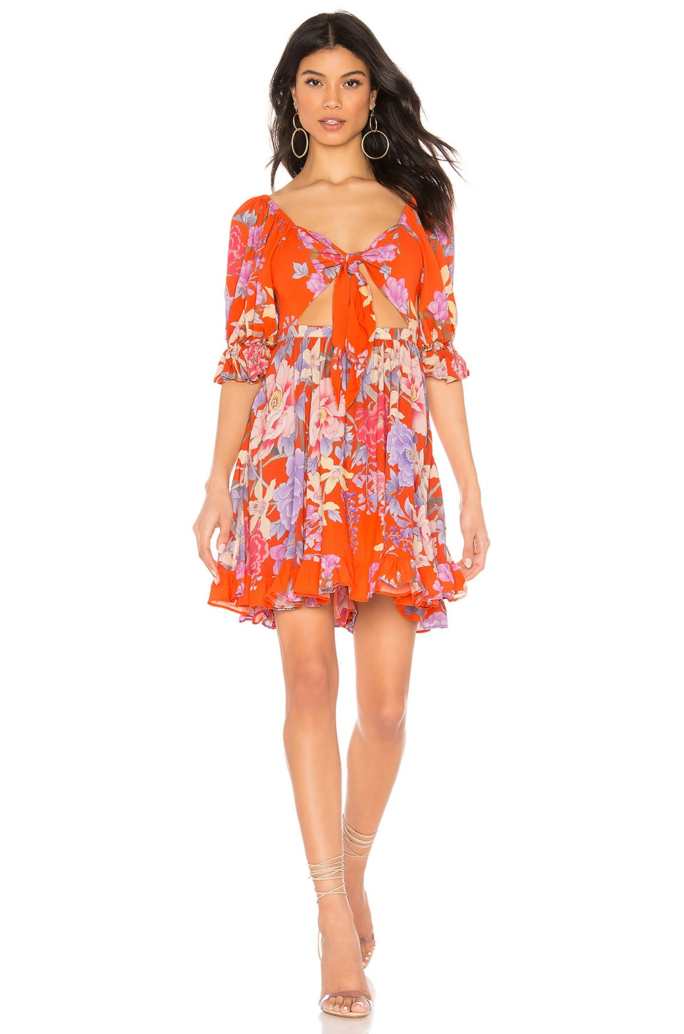 Spell & The Gypsy Collective Lily Playdress en Red