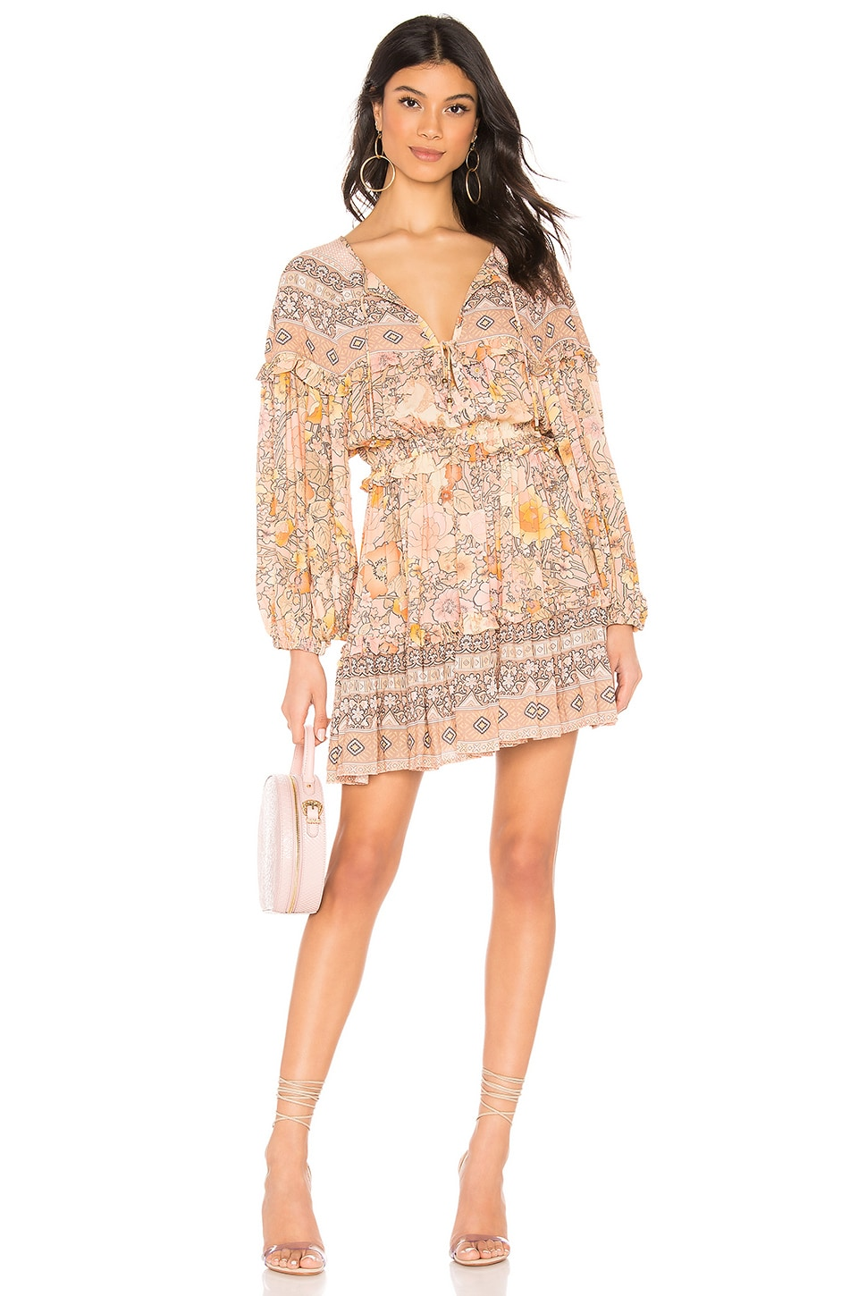 Spell & The Gypsy Collective Amethyst Playdress in Blush