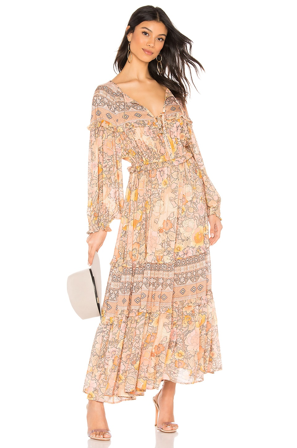 Spell & The Gypsy Collective Amethyst Gown in Blush