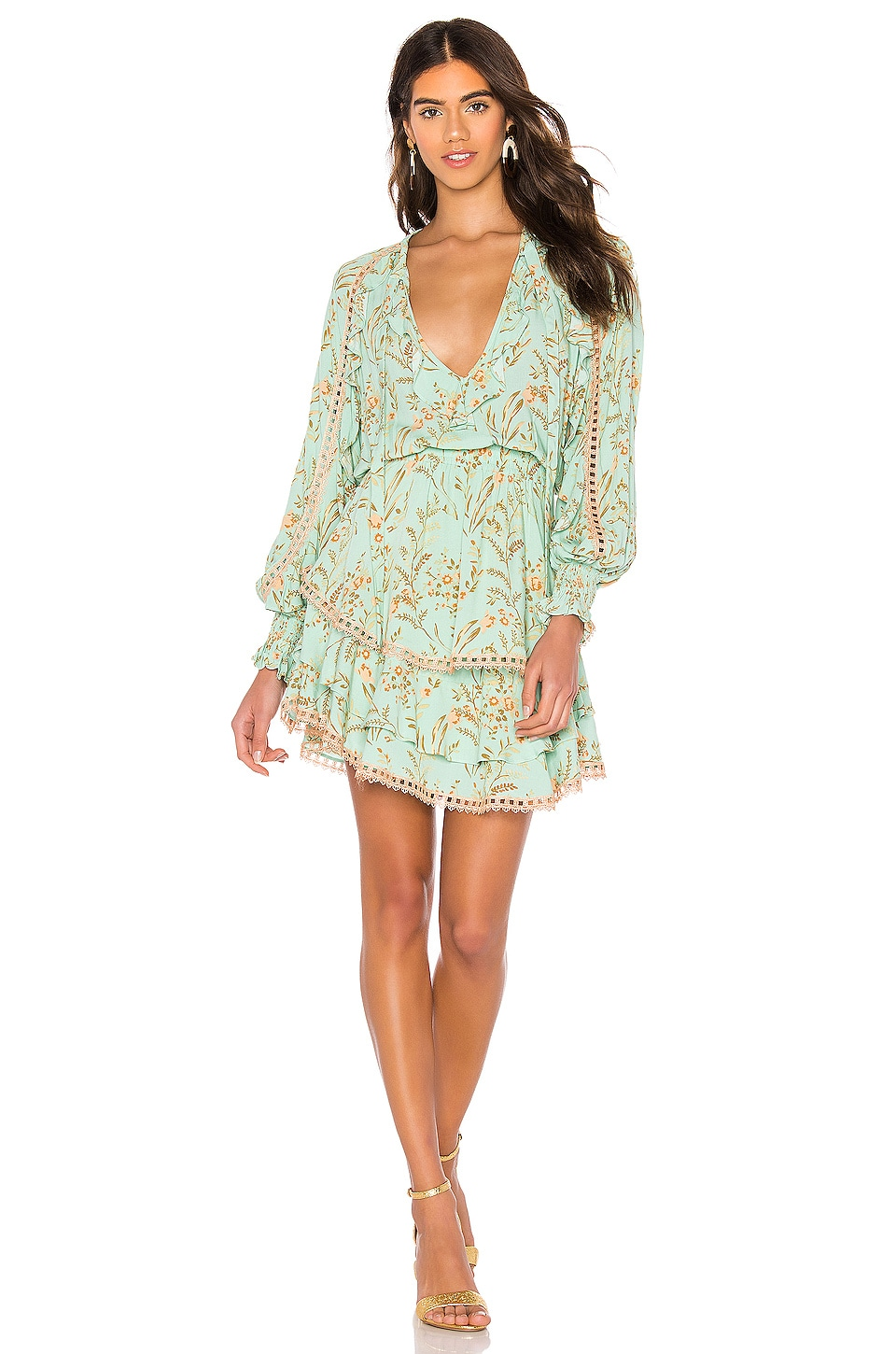 Spell & The Gypsy Collective Maisie Playdress en Vintage Turquoise