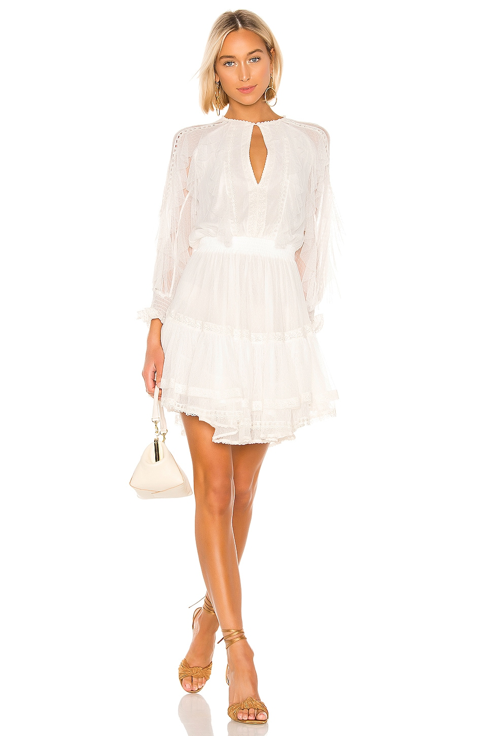 Spell & The Gypsy Collective Grace Tulle Playdress in White