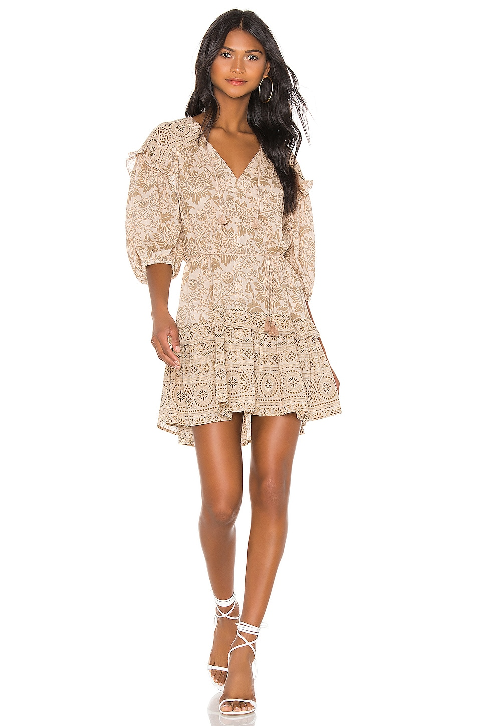 Spell & The Gypsy Collective Lioness Tunic Dress in Smoke