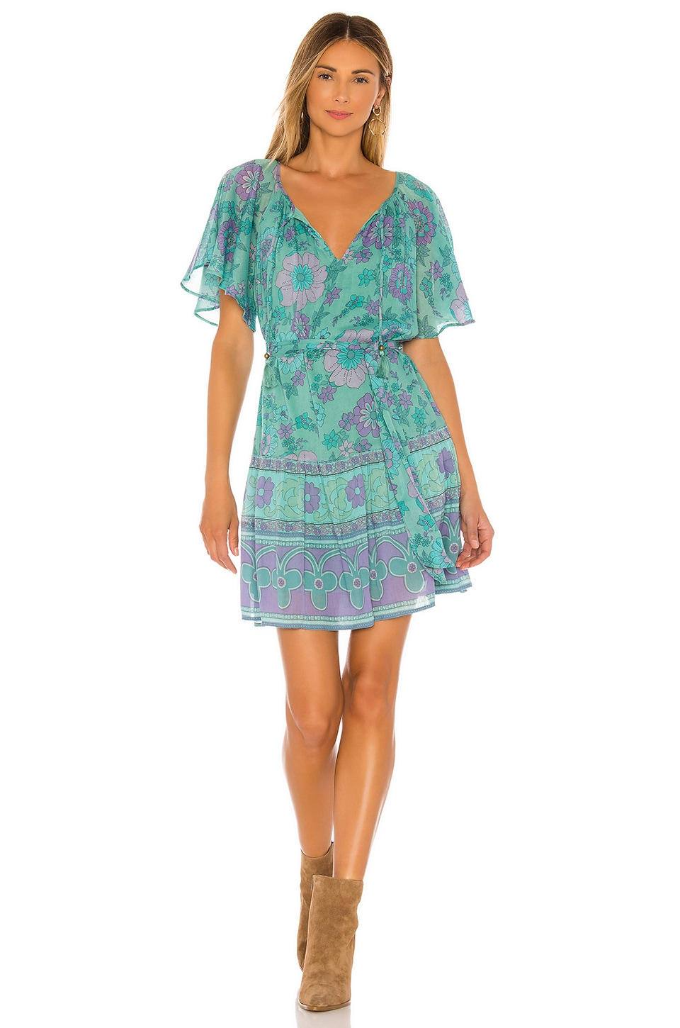 Spell & The Gypsy Collective X REVOLVE Buttercup Mini Dress in Ocean