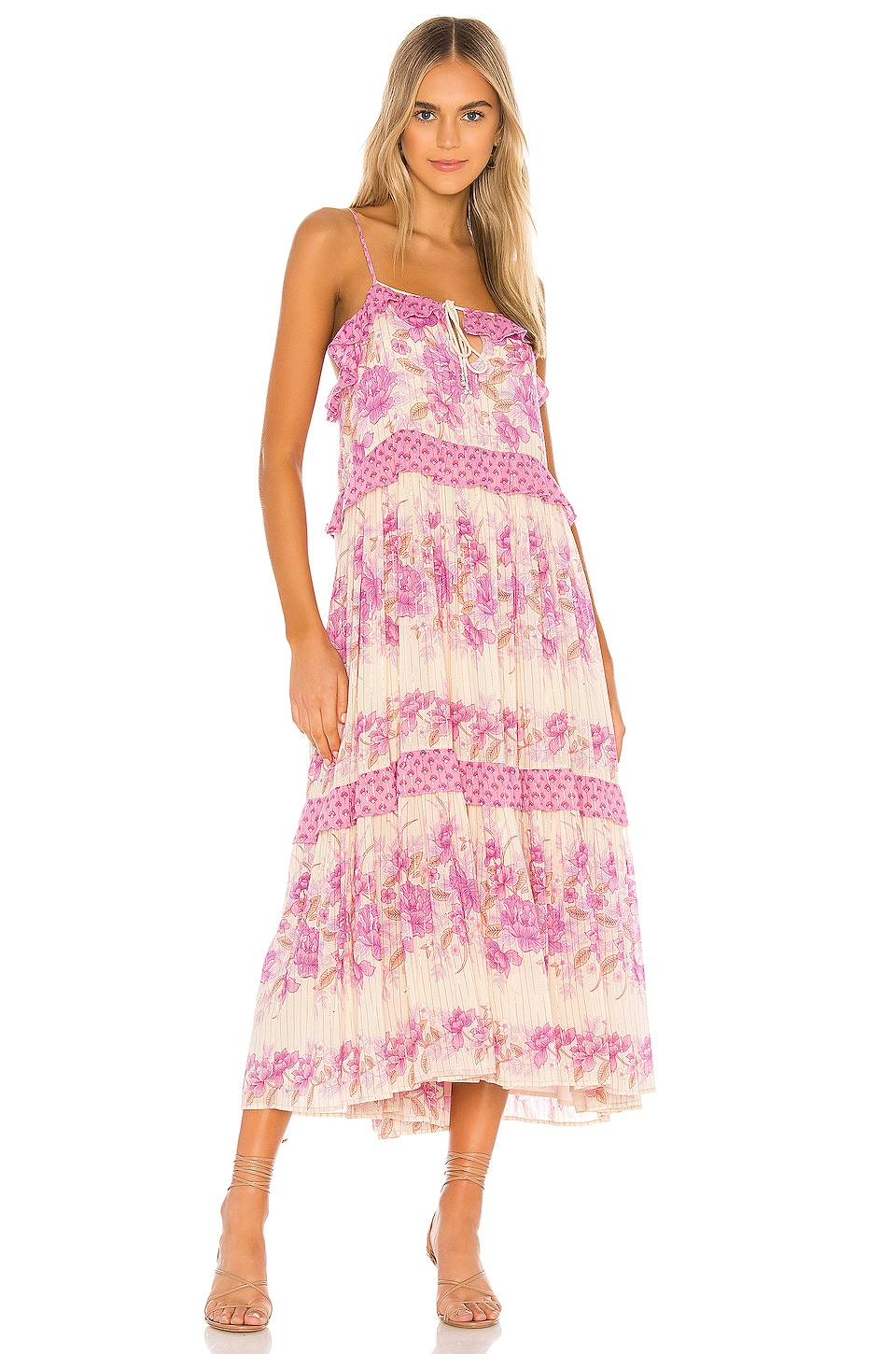 Spell & The Gypsy Collective Coco Lei Strappy Gown in Lilac