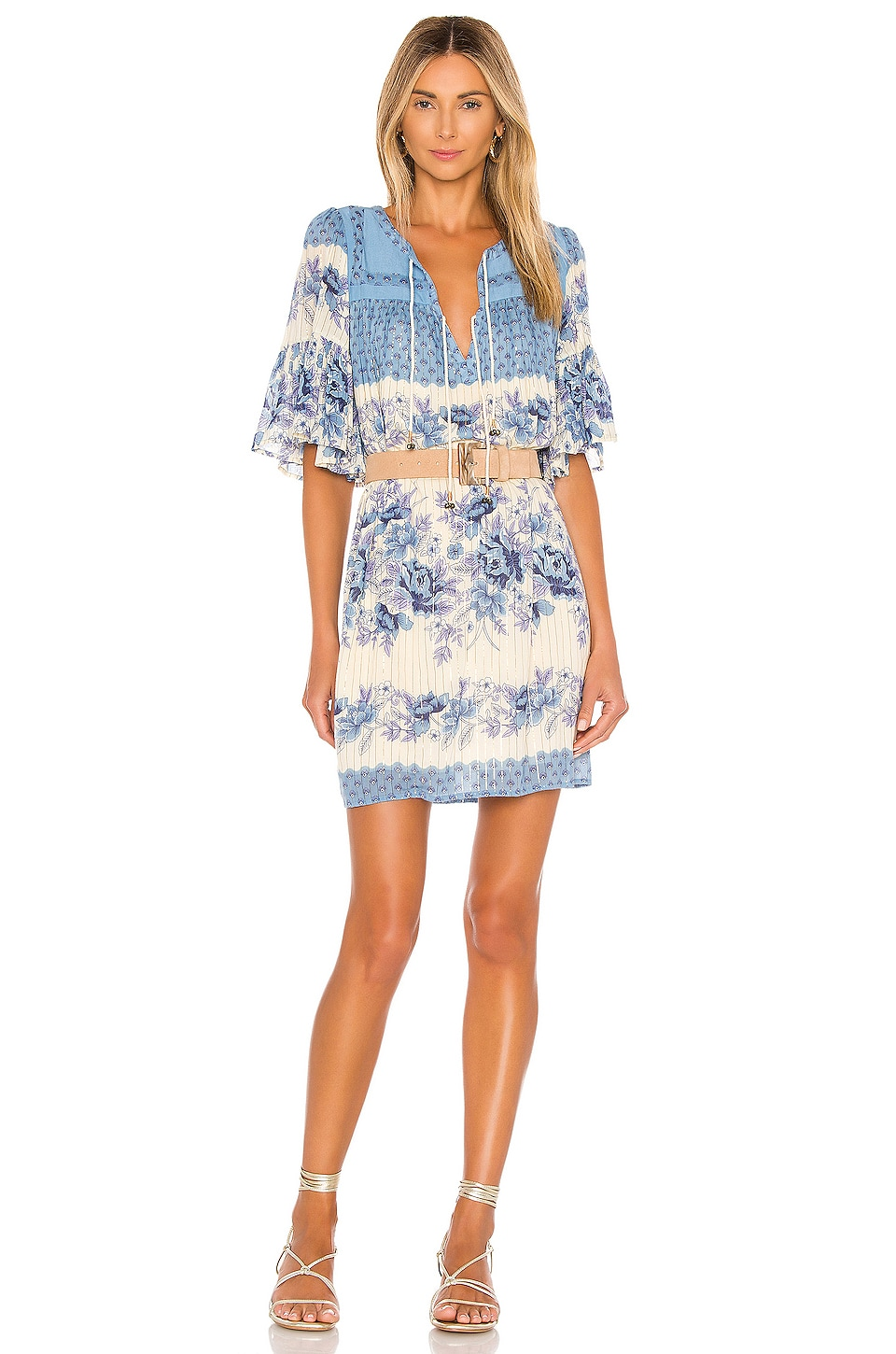 Spell & The Gypsy Collective X REVOLVE Coco Lei Flutter Tunic in Bluebird
