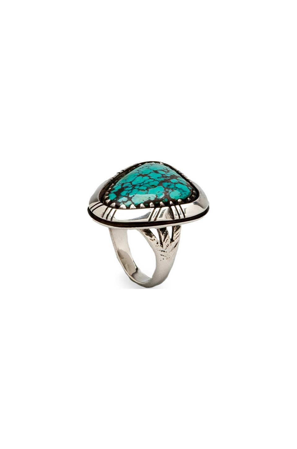 Spell & The Gypsy Collective Mountain Ring in Turquoise