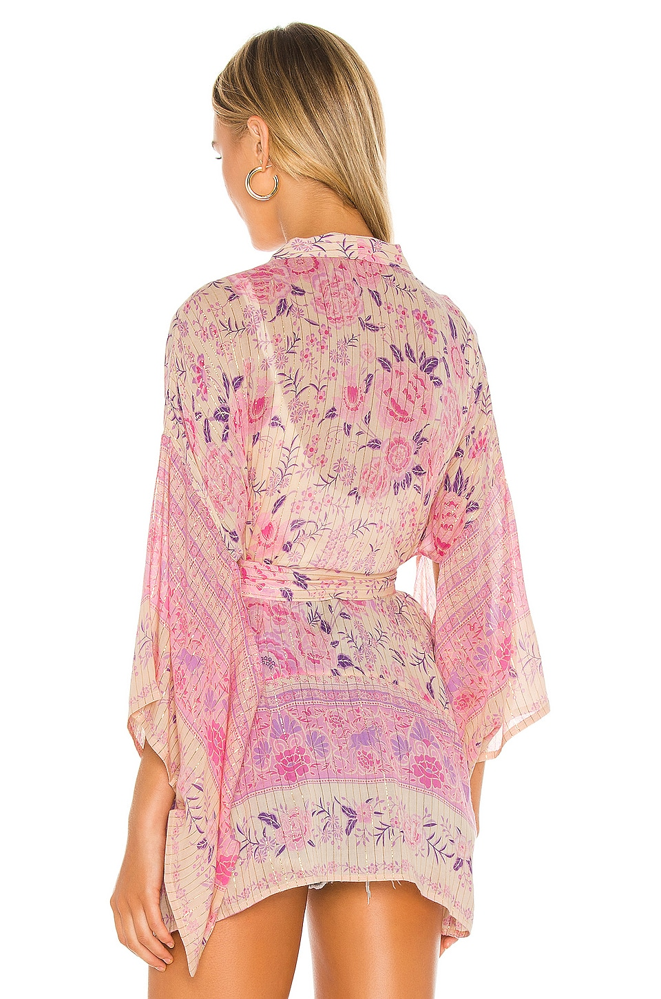 x REVOLVE Mystic Short Robe, view 4, click to view large image.