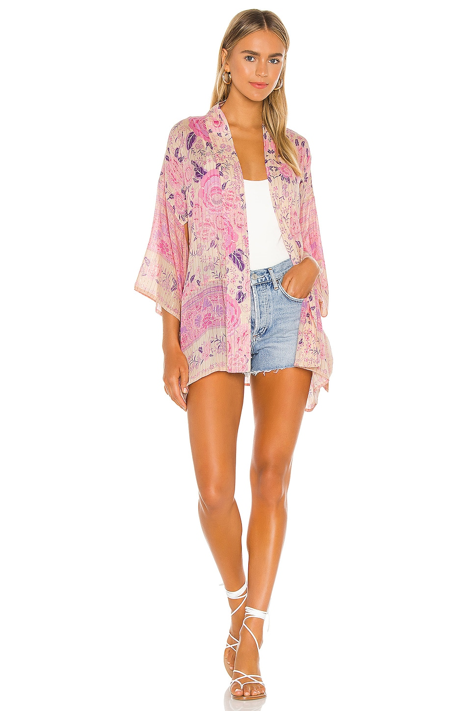 x REVOLVE Mystic Short Robe, view 5, click to view large image.