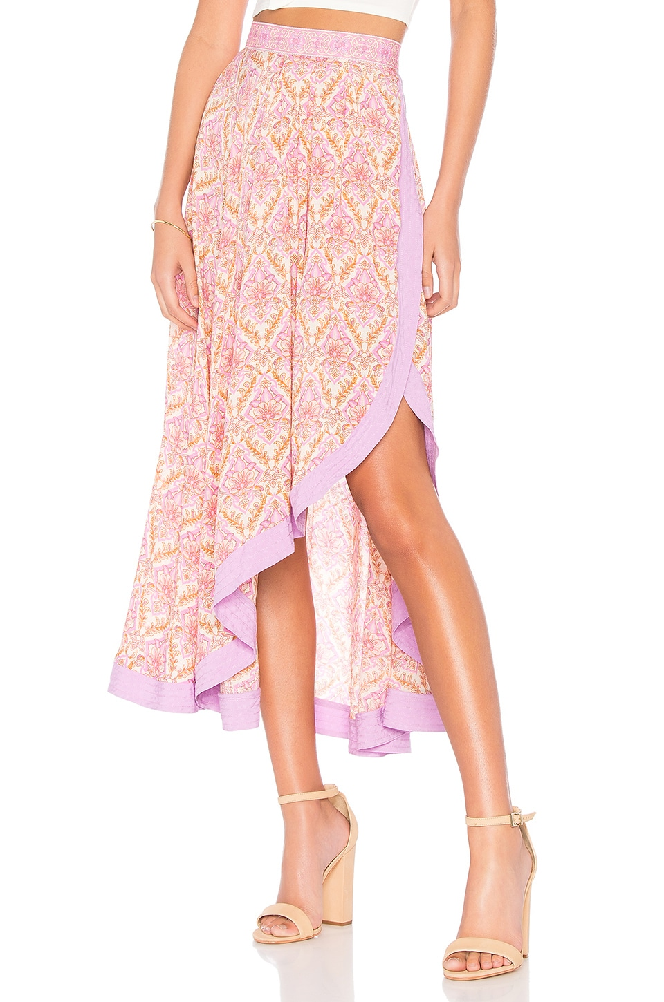 SPELL & THE GYPSY COLLECTIVE JEWEL WRAP SKIRT