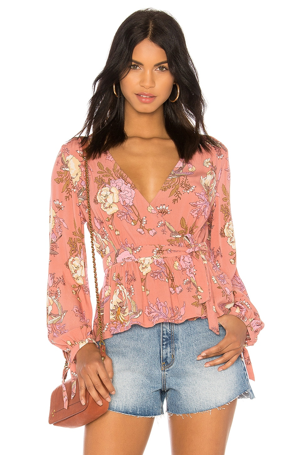 Rosa Wrap Blouse