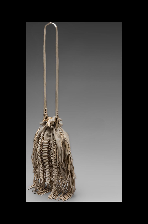 Spell & The Gypsy Collective Dreamweaver Tassel Crossbody Bag in Cream