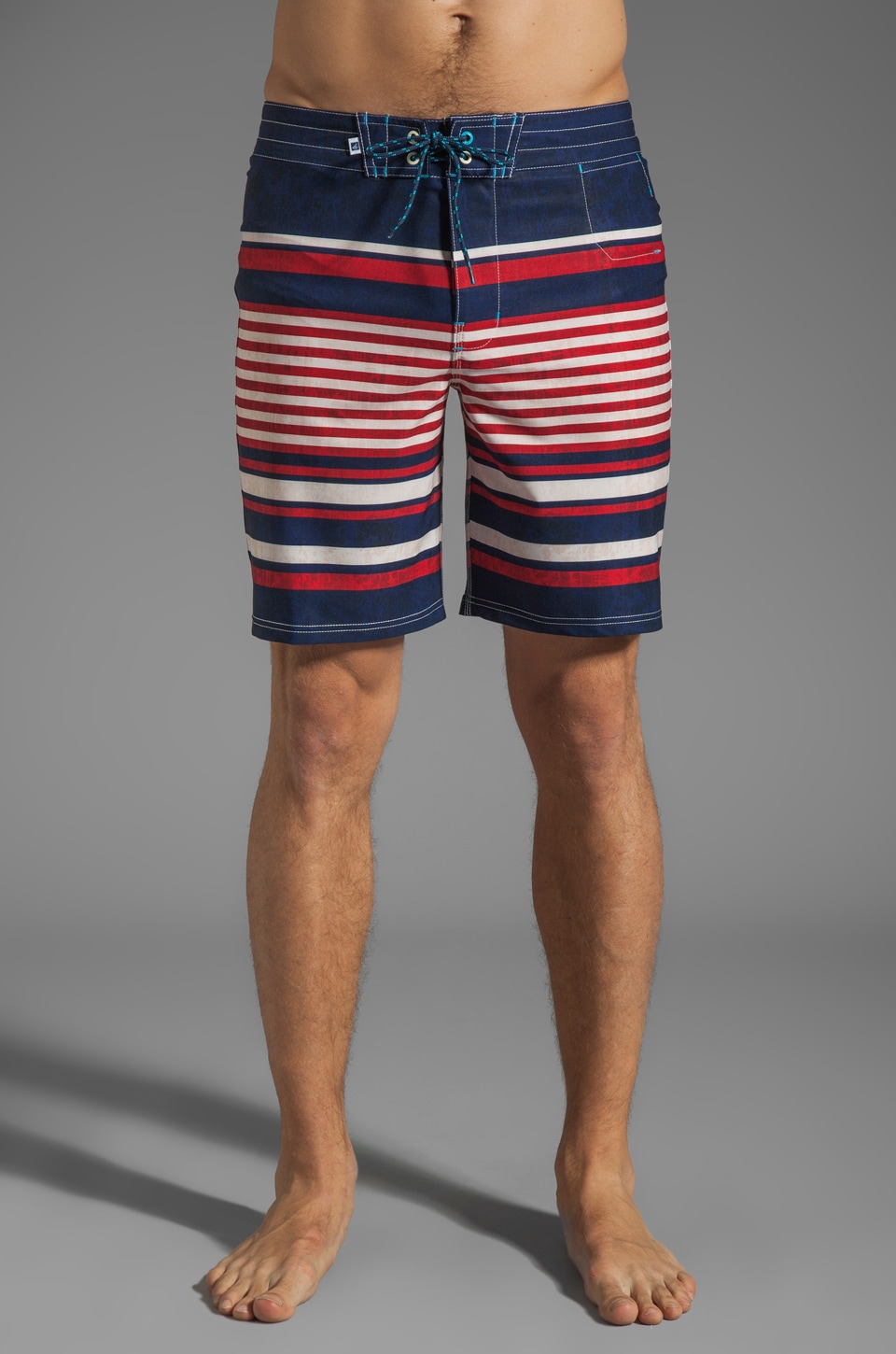 Sperry Top-Sider Walk The Plank Boardshort in Crimson