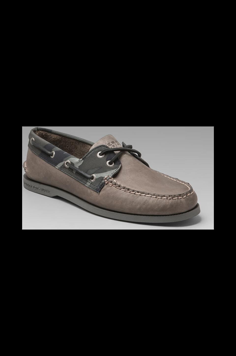 Sperry Top-Sider A/O 2-Eye in Grey/Camo