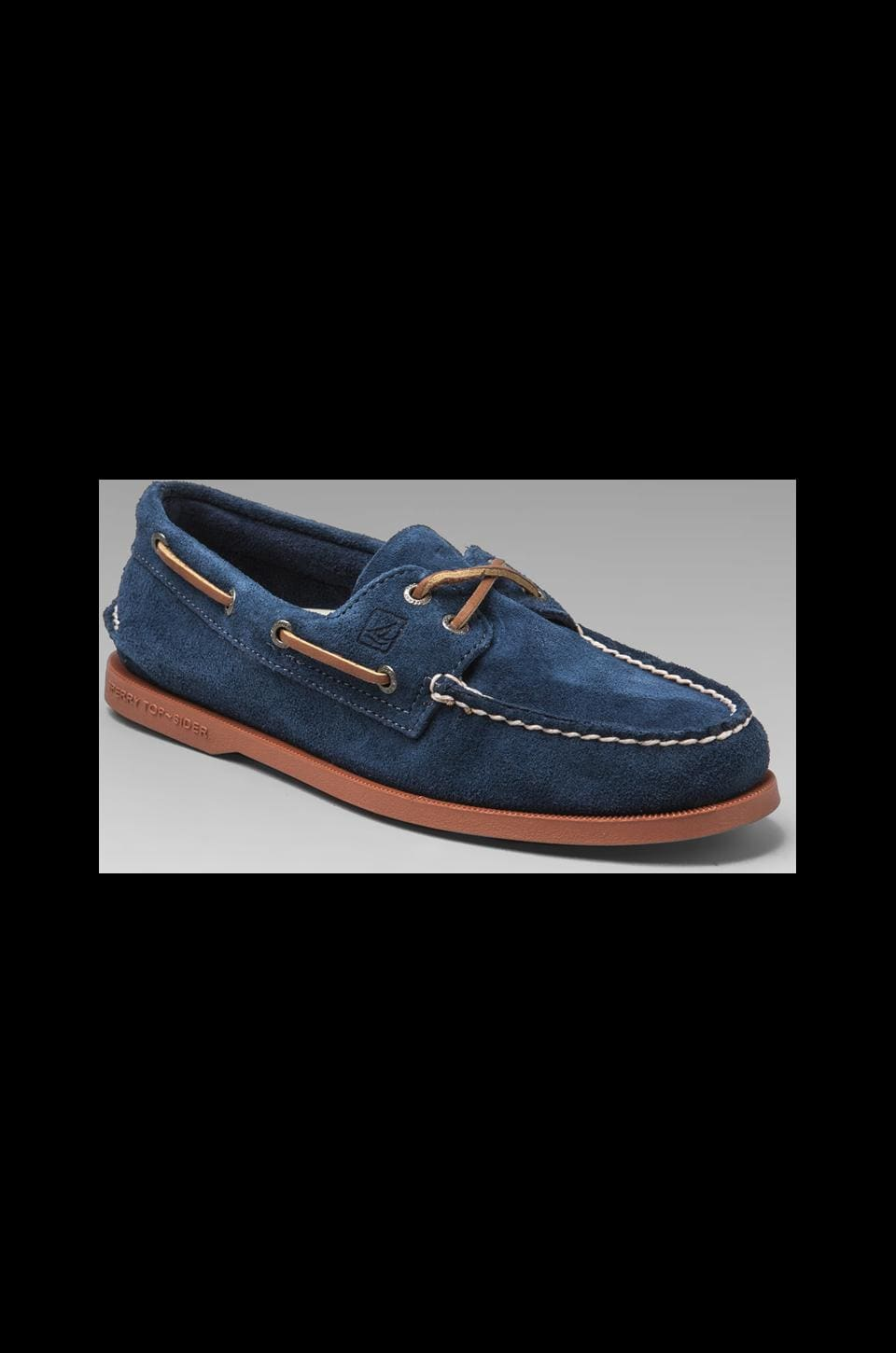 Sperry Top-Sider A/O 2-Eye in Navy Suede