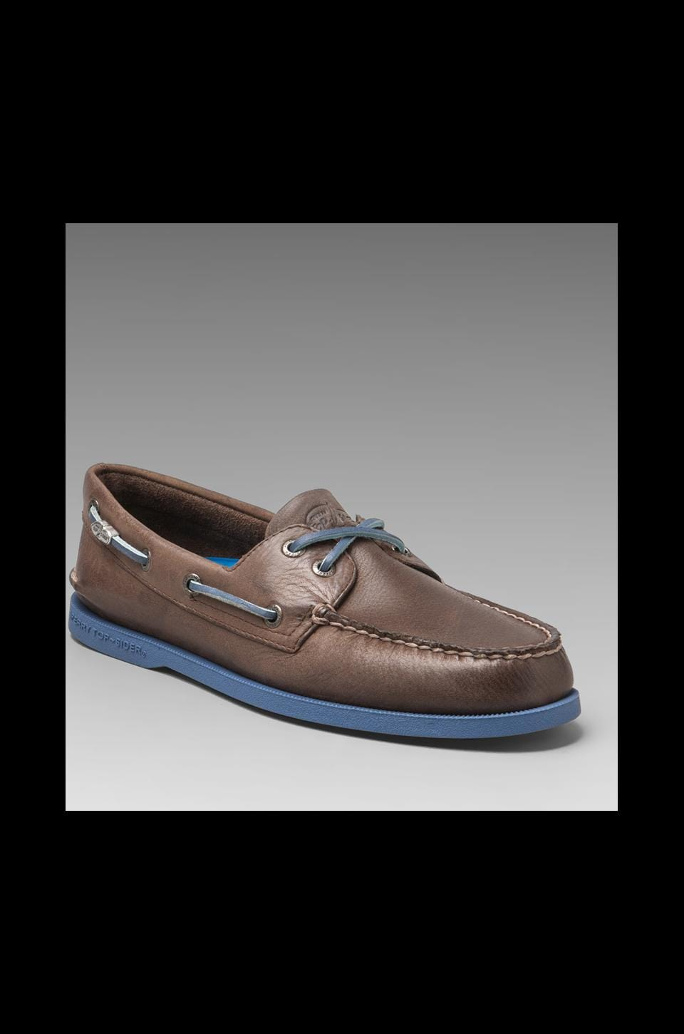 Sperry Top-Sider Cloud Collection Burnished A/O 2-Eye in Brown
