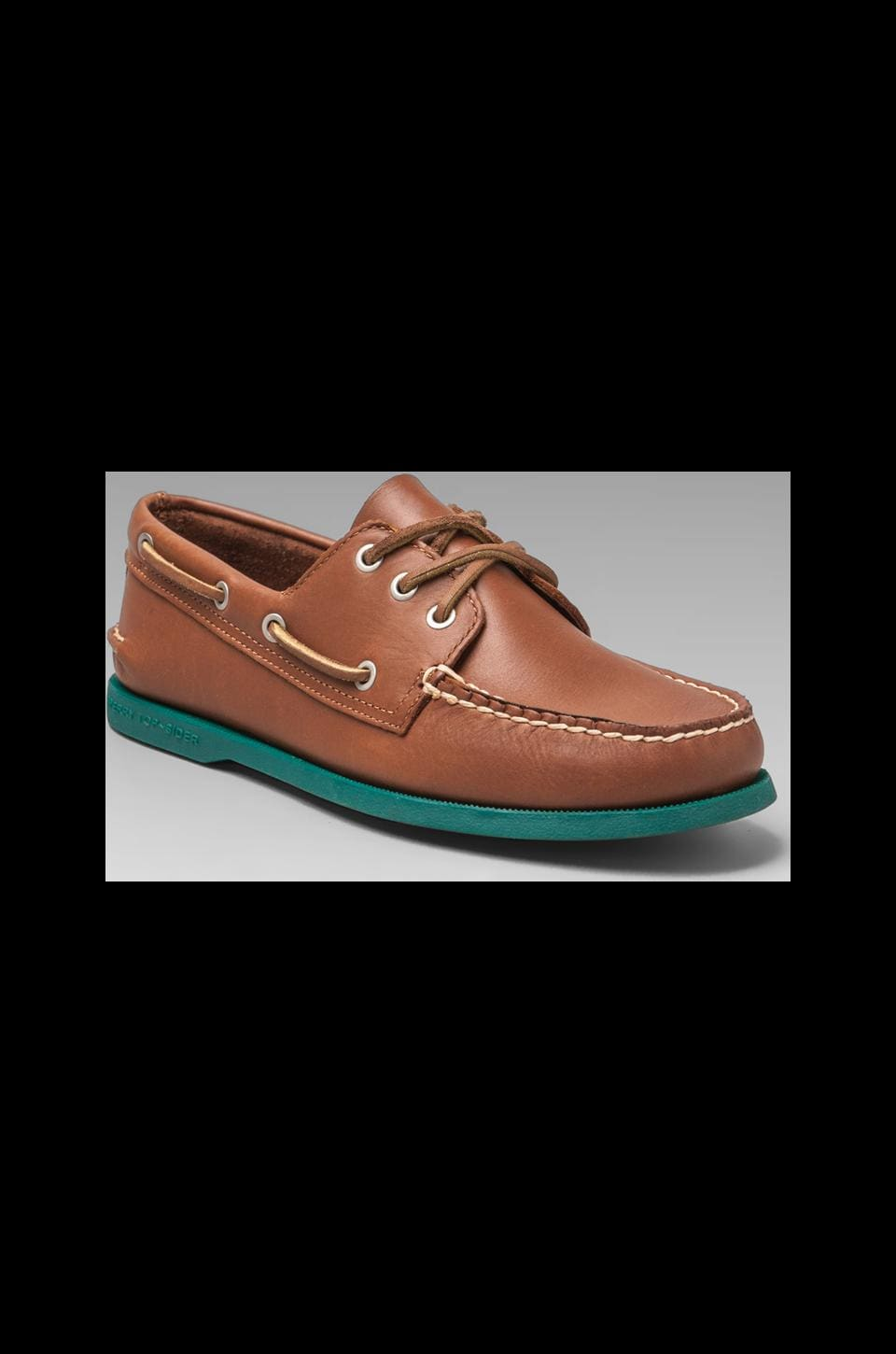 Sperry Top-Sider Silvercloud Collection A/O in Tan/Seaglass