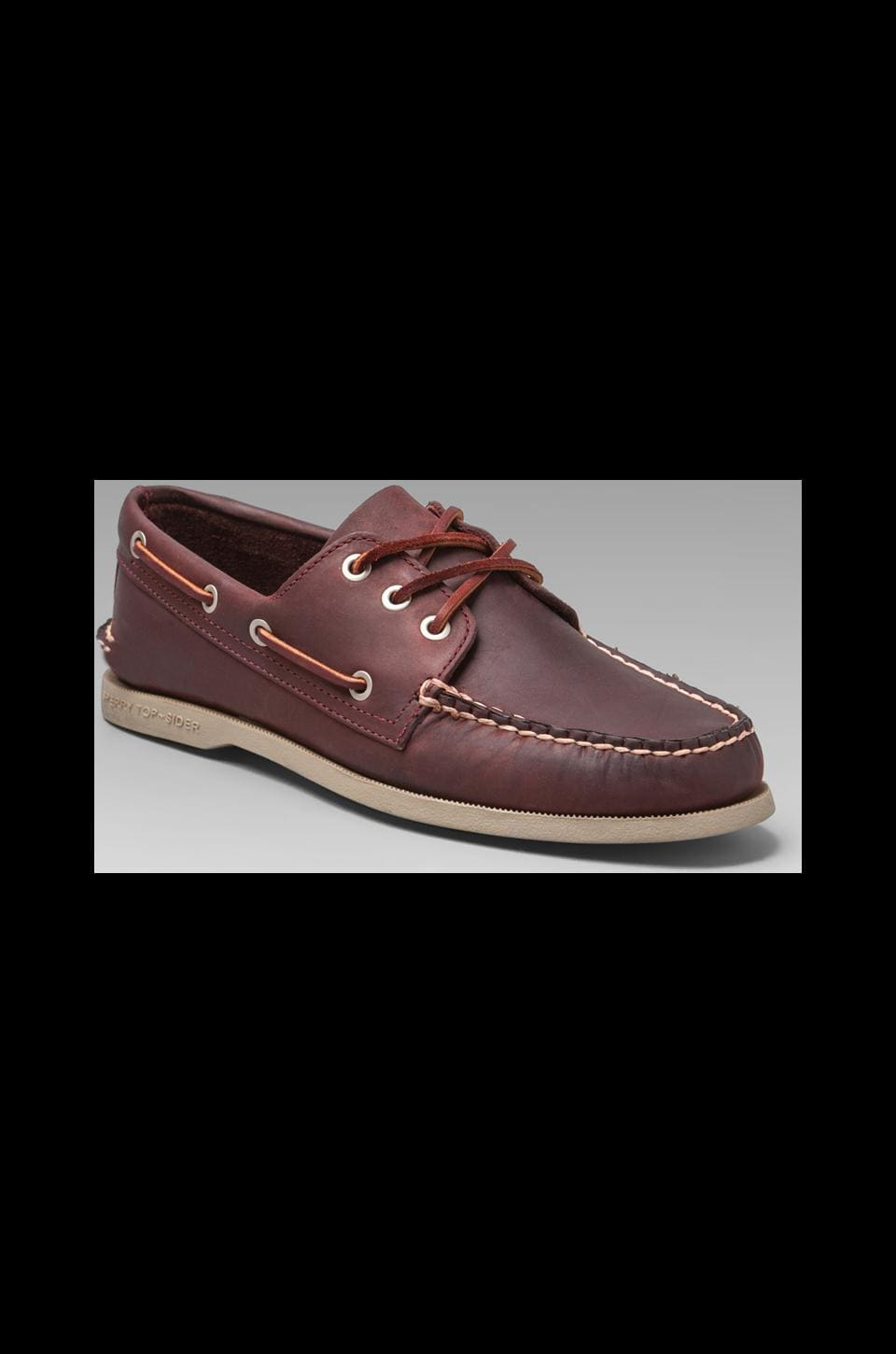 Sperry Top-Sider Silvercloud Collection A/O in Oxblood/Dune