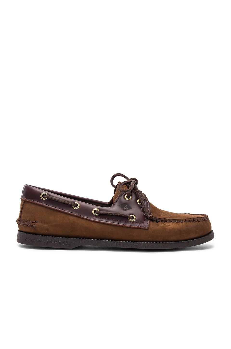 Sperry Top-Sider A/O 2-Eye in Brown/Buck Brown