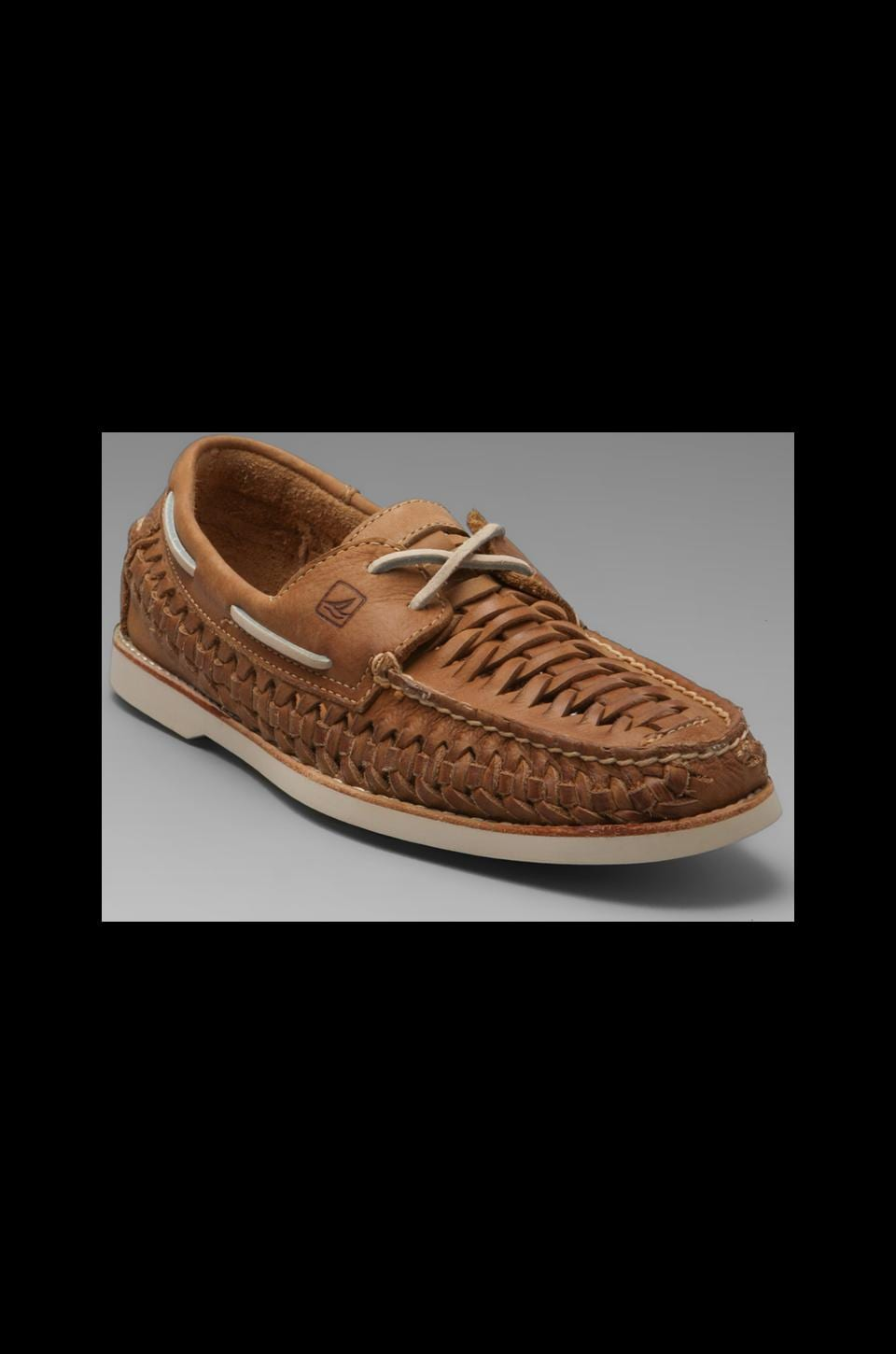 Sperry Top-Sider Seaside 2-Eye Woven in Tan