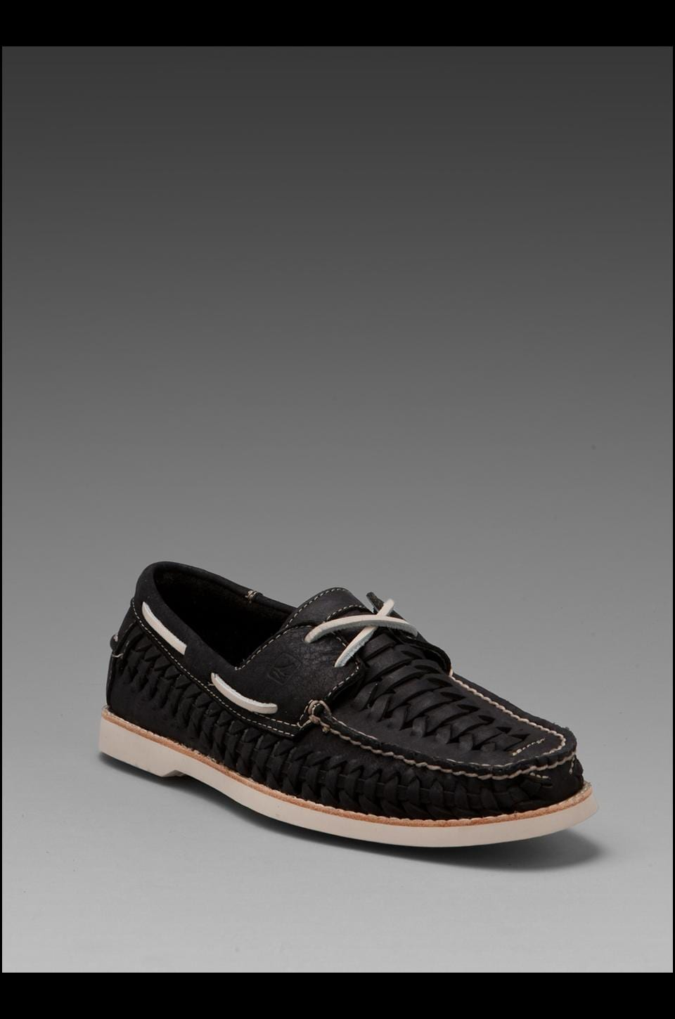 Sperry Top-Sider Seaside 2-Eye Woven in Black